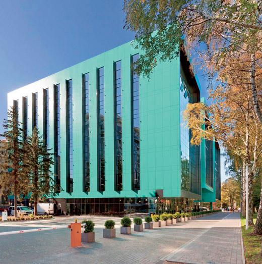 Офисный комплекс «Оптима Плаза» по ул. Научной, 7-д во Львове