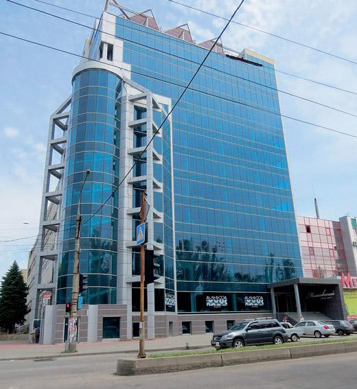 БЦ «Маяковский» по проспекту Маяковского, 11 в Запорожье