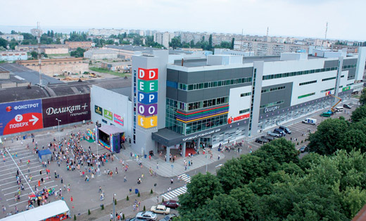 ТРЦ DEPO't Center по бульвару Тараса Шевченко, 385 в Черкассах